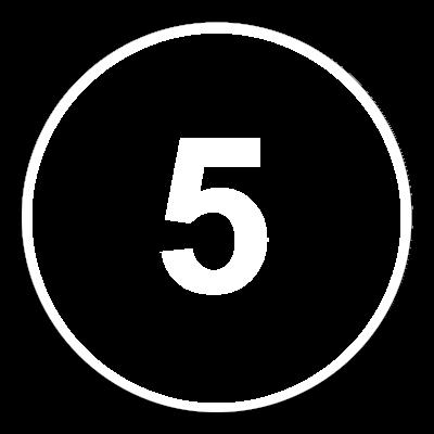 5 white